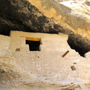 This Window is an example of archetecture used by natives farther north.