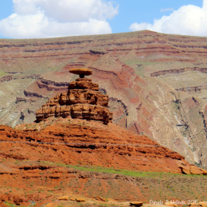 Can you see the Mexican Hat?